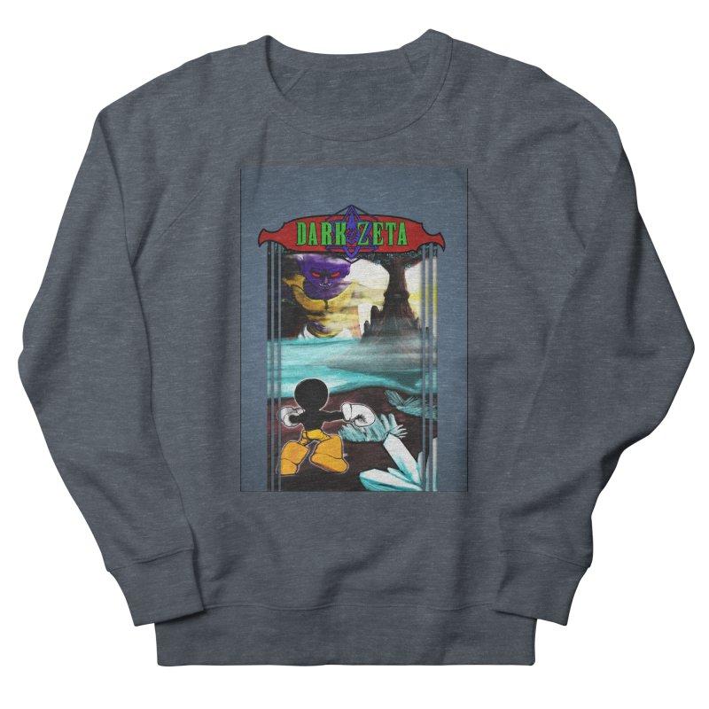 DARK ZETA NES 80s Mock Cover Women's Sweatshirt by Valerius's Artist Shop