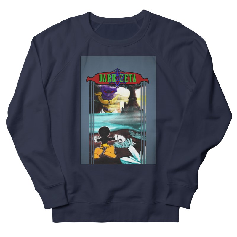 DARK ZETA NES 80s Mock Cover Women's French Terry Sweatshirt by Valerius's Artist Shop