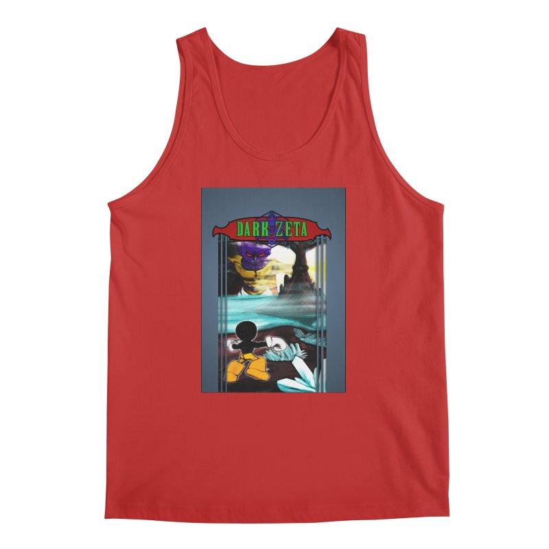 DARK ZETA NES 80s Mock Cover Men's Regular Tank by Valerius's Artist Shop
