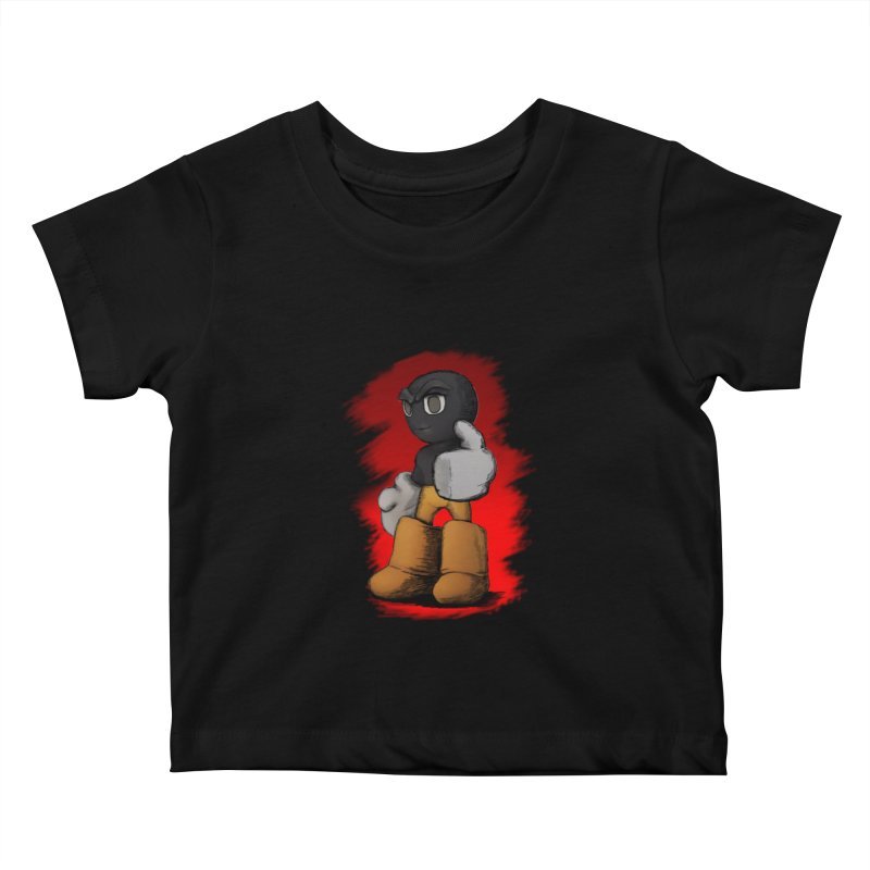 Dark Alpha - Special Kids Baby T-Shirt by Valerius's Artist Shop