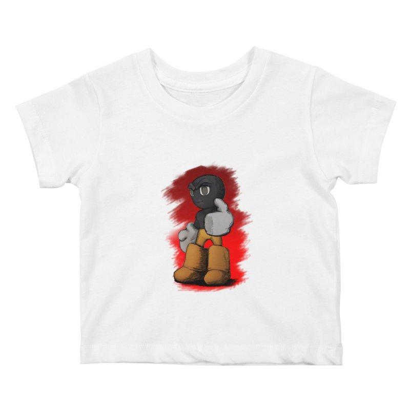 Dark Alpha - Special Kids Baby T-Shirt by Valerius's Artist Shop