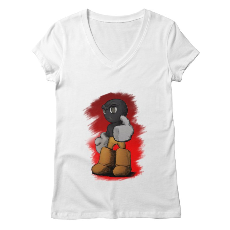 Dark Alpha - Special Women's V-Neck by Valerius's Artist Shop