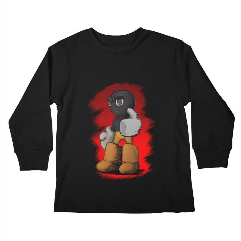 Dark Alpha - Special Kids Longsleeve T-Shirt by Valerius's Artist Shop