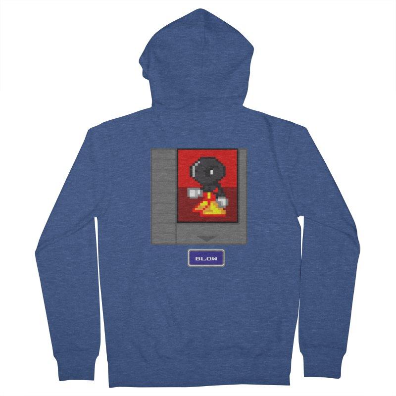 DARK ZETA Cartridge Original icon Men's Zip-Up Hoody by Valerius's Artist Shop