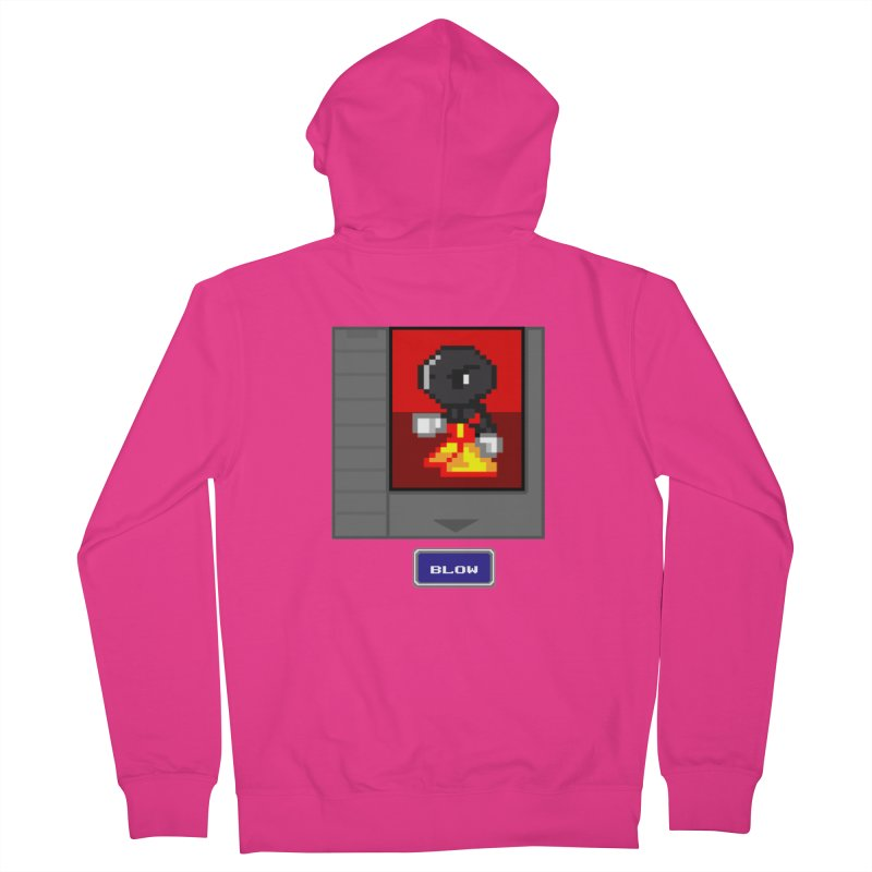 DARK ZETA Cartridge Original icon Men's French Terry Zip-Up Hoody by Valerius's Artist Shop