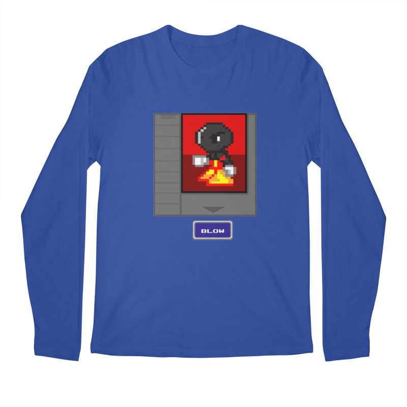 DARK ZETA Cartridge Original icon Men's Regular Longsleeve T-Shirt by Valerius's Artist Shop