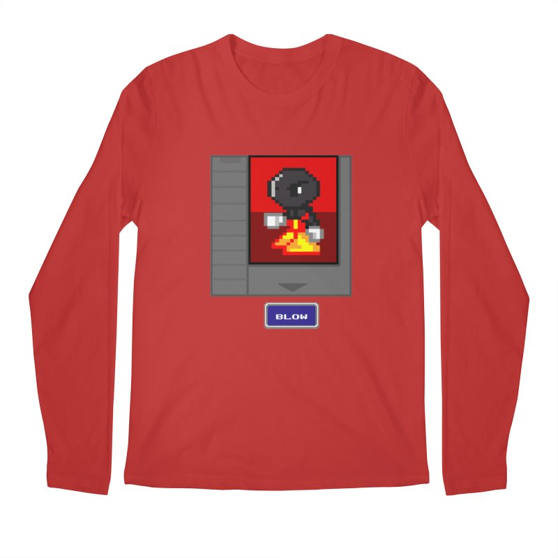 DARK ZETA Cartridge Original icon Men's Regular Longsleeve T-Shirt by Valerius's Artist Shop