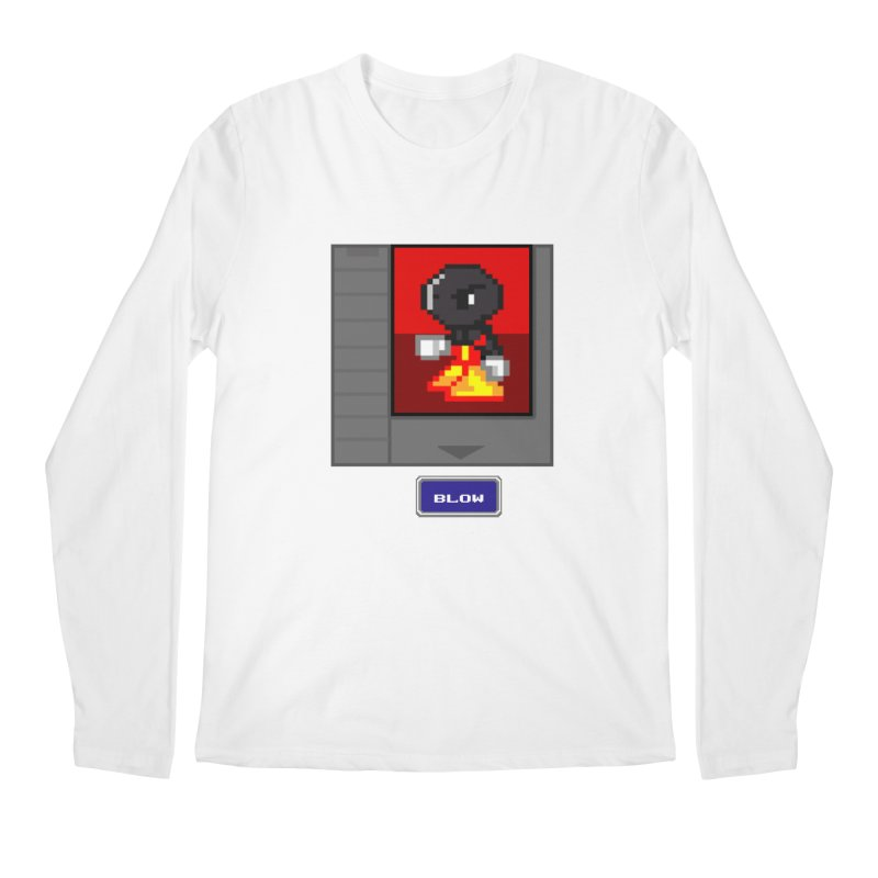 DARK ZETA Cartridge Original icon Men's Longsleeve T-Shirt by Valerius's Artist Shop