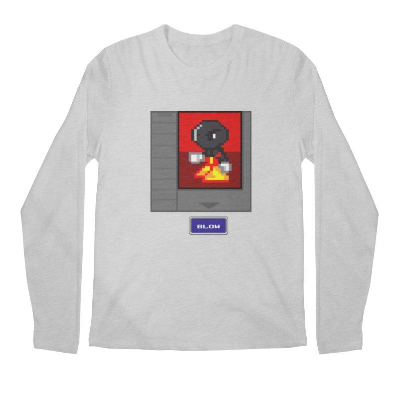 DARK ZETA Cartridge Original icon Men's Longsleeve T-Shirt by Valerius's Artist Shop