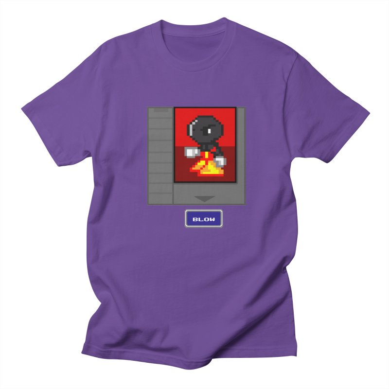 DARK ZETA Cartridge Original icon Men's Regular T-Shirt by Valerius's Artist Shop