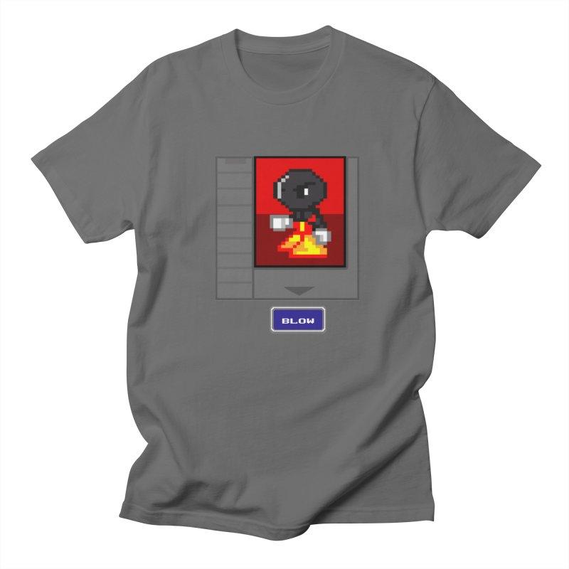 DARK ZETA Cartridge Original icon Men's T-Shirt by Valerius's Artist Shop
