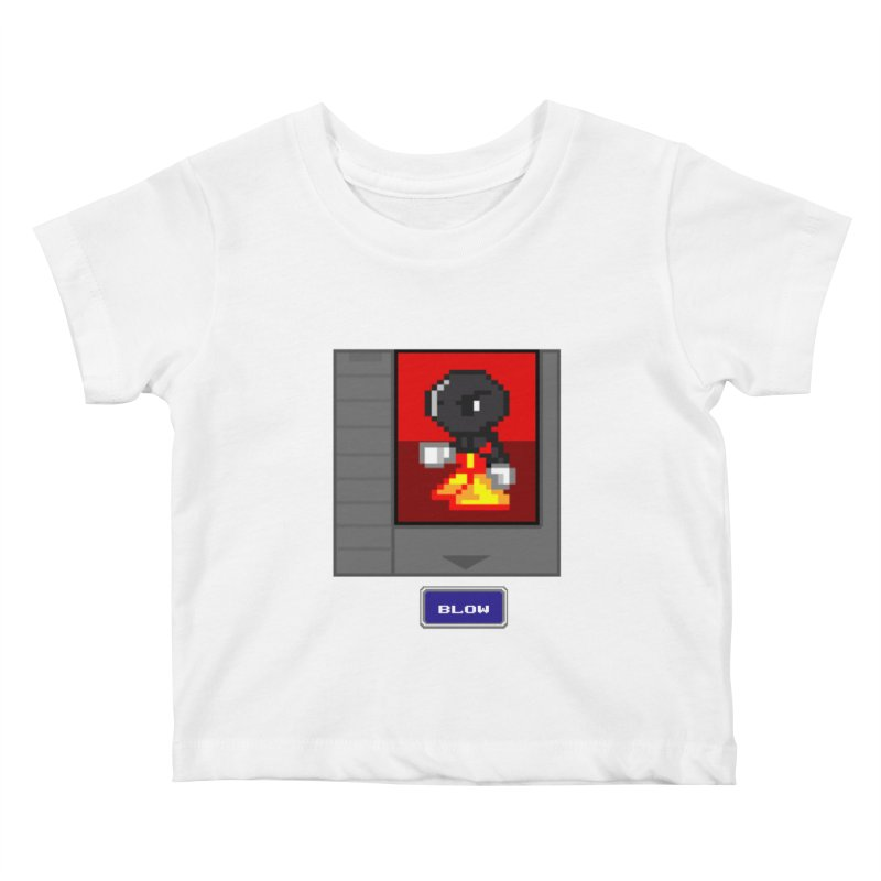 DARK ZETA Cartridge Original icon Kids Baby T-Shirt by Valerius's Artist Shop