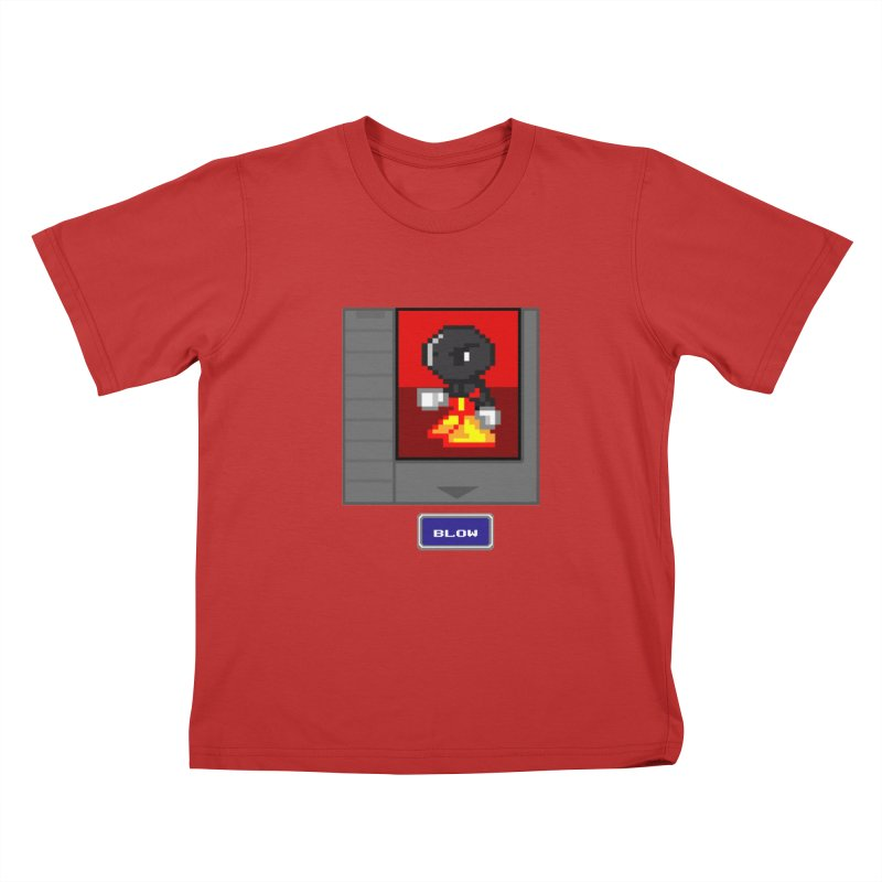 DARK ZETA Cartridge Original icon Kids T-Shirt by Valerius's Artist Shop