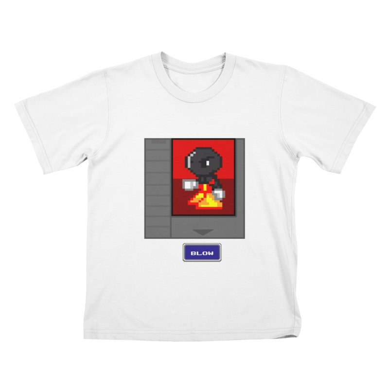 DARK ZETA Cartridge Original icon Kids T-Shirt by Valerius's Artist Shop