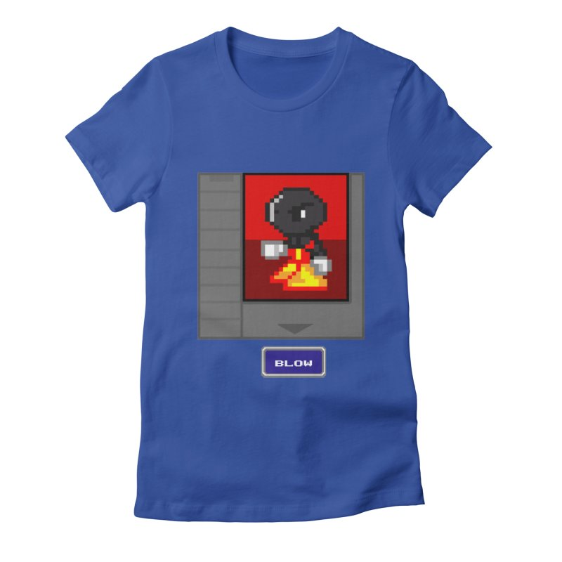 DARK ZETA Cartridge Original icon Women's Fitted T-Shirt by Valerius's Artist Shop
