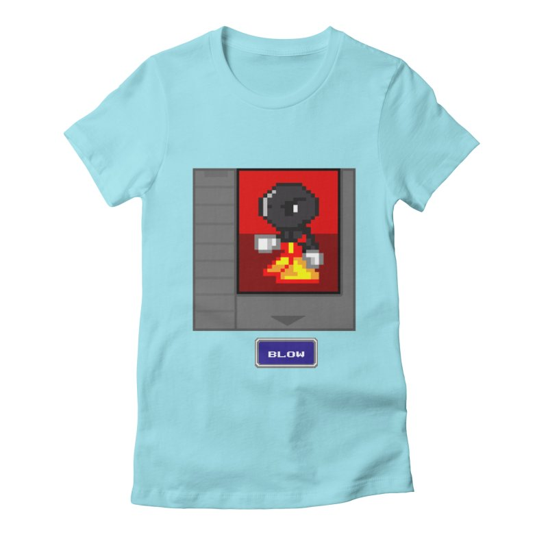 DARK ZETA Cartridge Original icon Women's Fitted T-Shirt by Valerius's Artist Shop