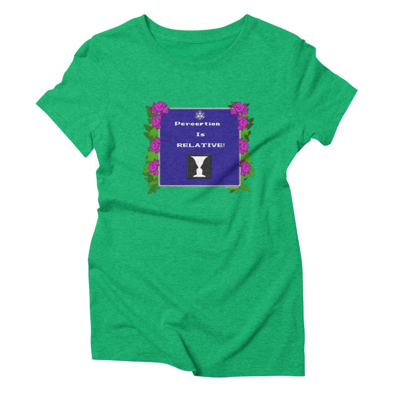 """Perception is """"Truth"""" Women's T-Shirt by Valerius's Artist Shop"""