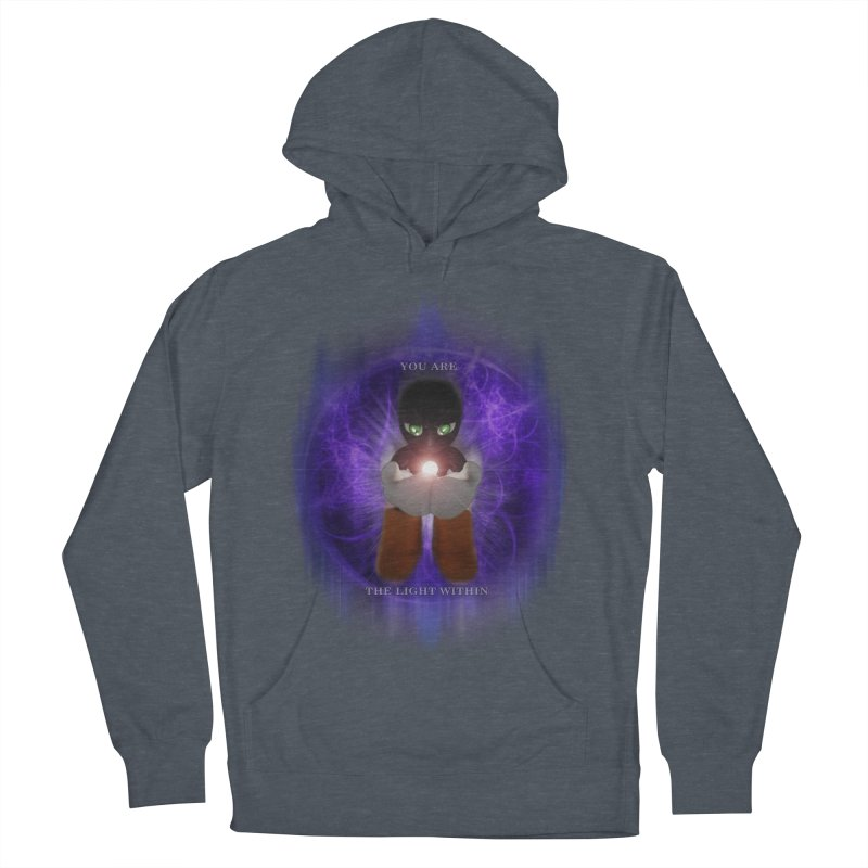 We Are the Light Within Men's Pullover Hoody by Valerius's Artist Shop