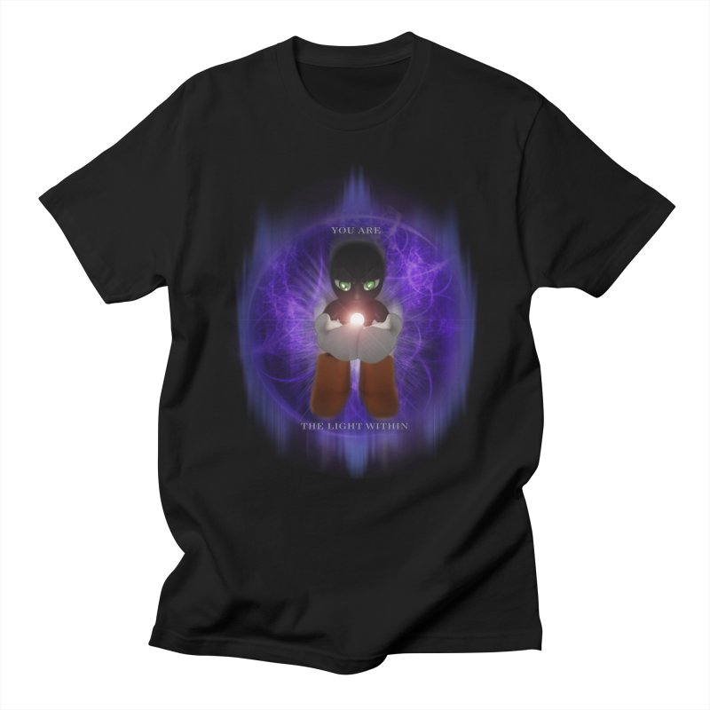 We Are the Light Within Men's T-shirt by Valerius's Artist Shop