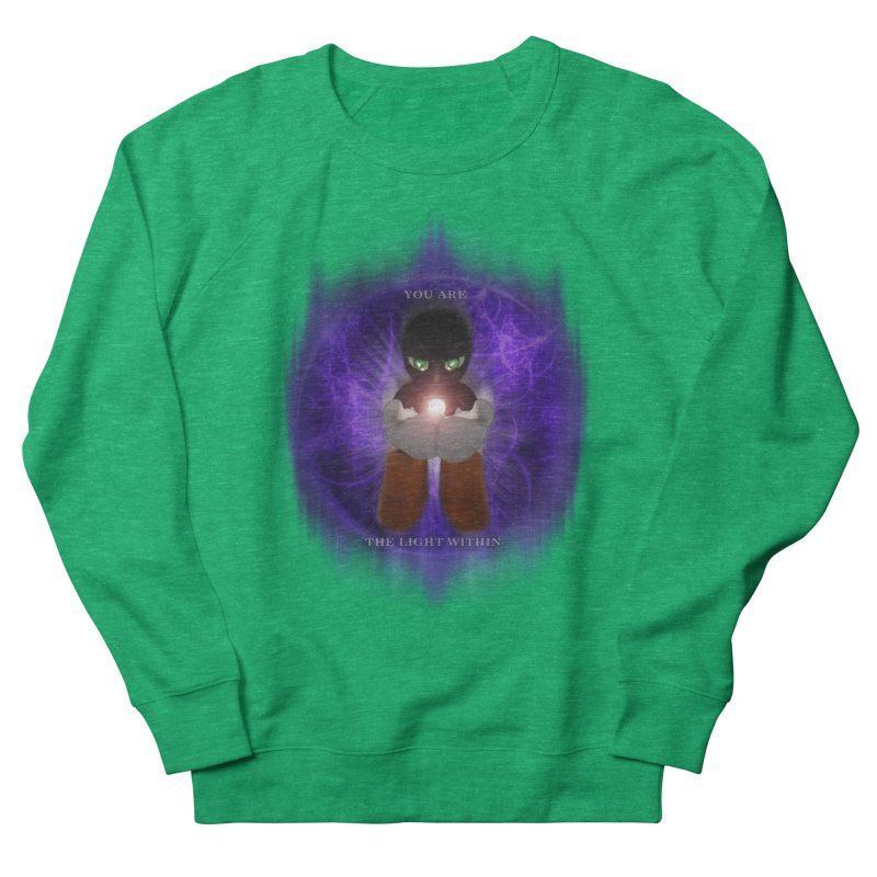 We Are the Light Within Women's Sweatshirt by Valerius's Artist Shop