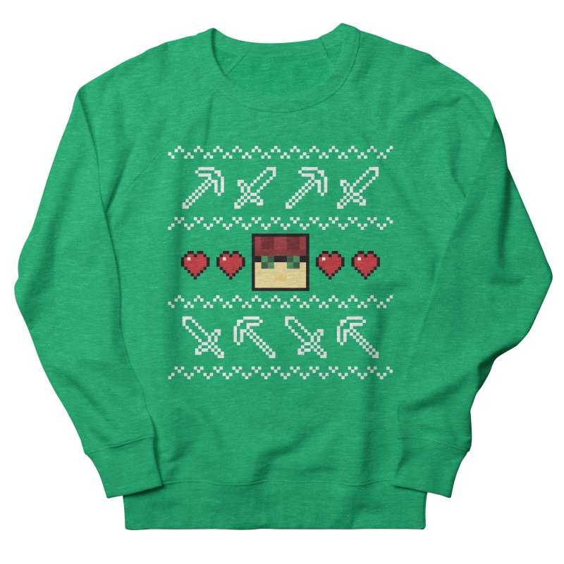 Vechs Ugly Sweater in Men's French Terry Sweatshirt Heather Kelly by All Things Vechs