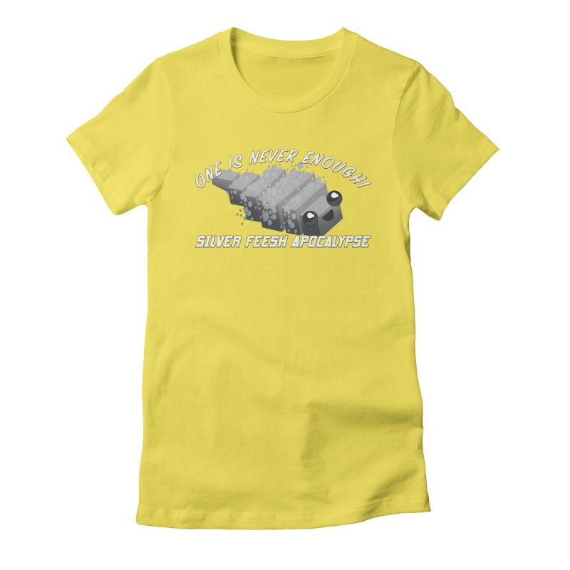 Feesh Apocalypse Women's Fitted T-Shirt by All Things Vechs