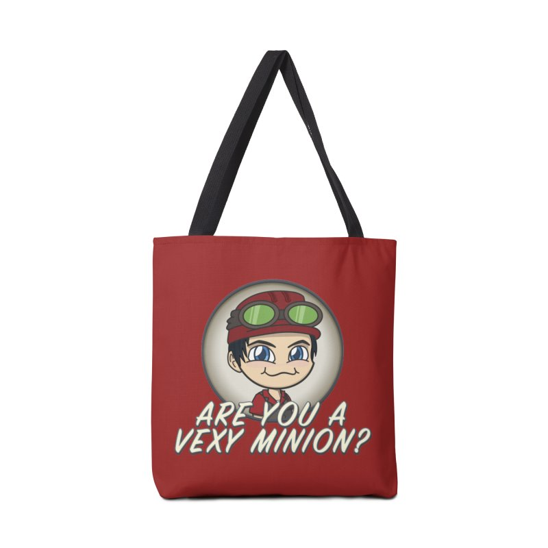 Vexy Minion - Red Accessories Bag by All Things Vechs