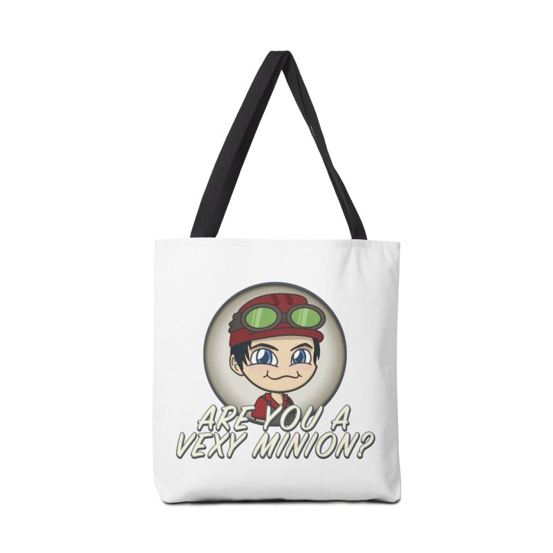 Vexy Minion - White Accessories Bag by All Things Vechs