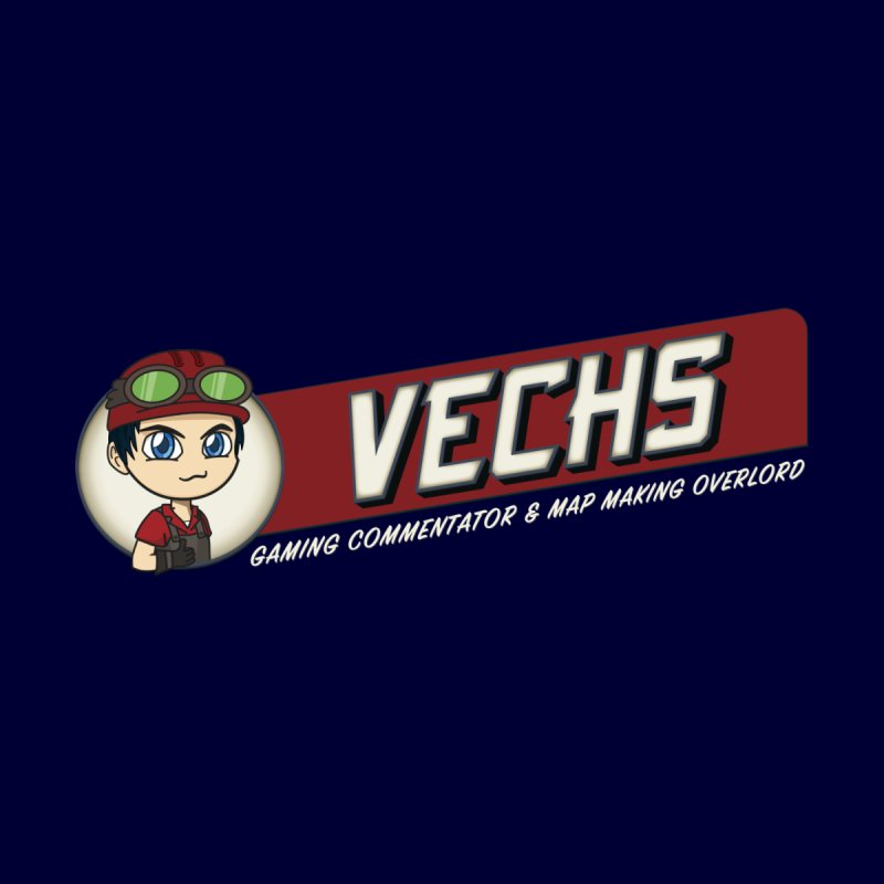 Vechs Logo - Overlord Accessories Zip Pouch by All Things Vechs