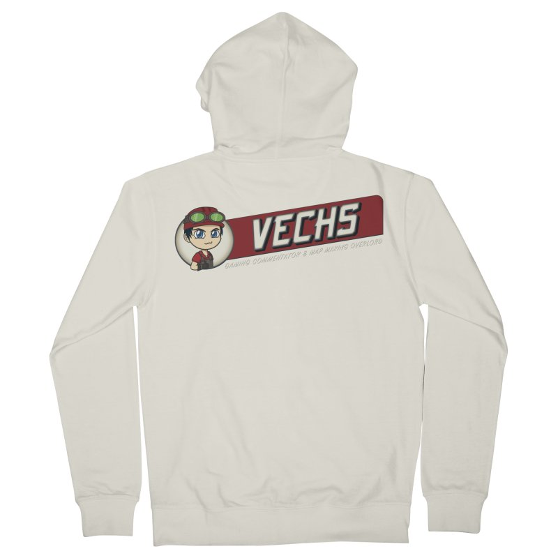 Vechs Logo - Overlord Women's French Terry Zip-Up Hoody by All Things Vechs