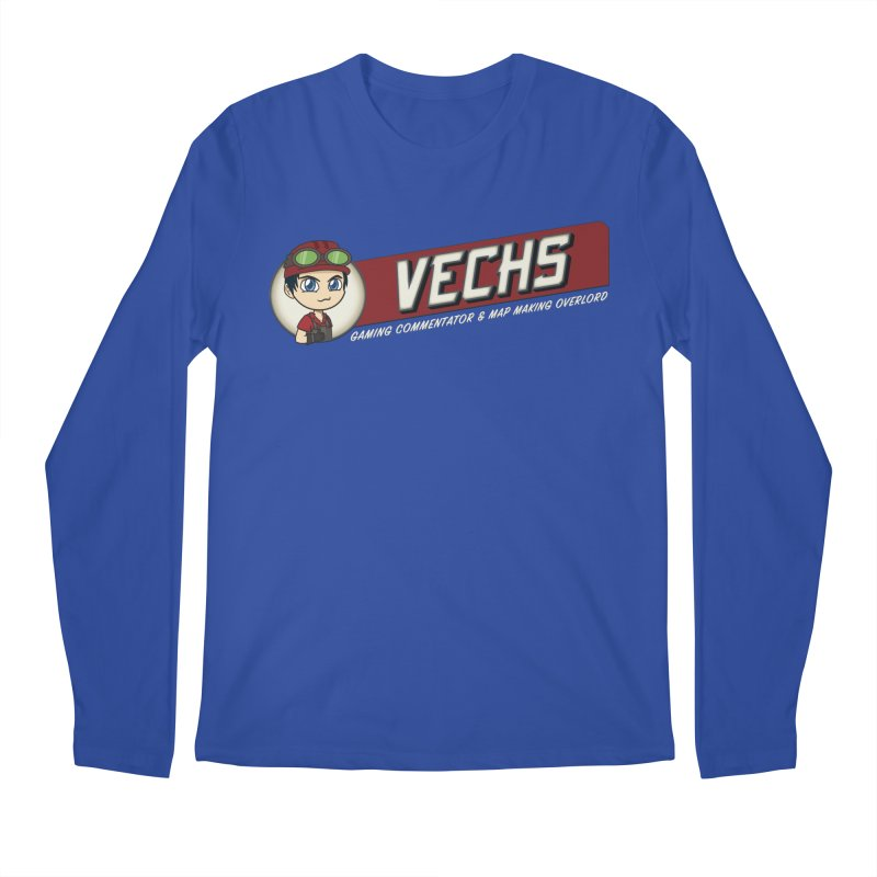 Vechs Logo - Overlord Men's Regular Longsleeve T-Shirt by All Things Vechs