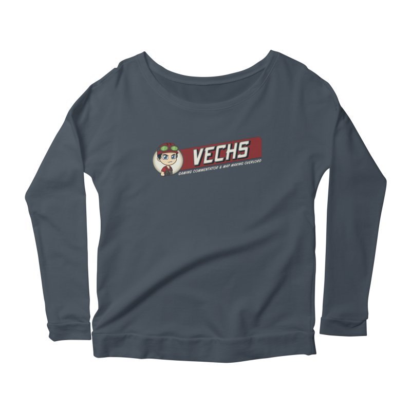 Vechs Logo - Overlord Women's Scoop Neck Longsleeve T-Shirt by All Things Vechs