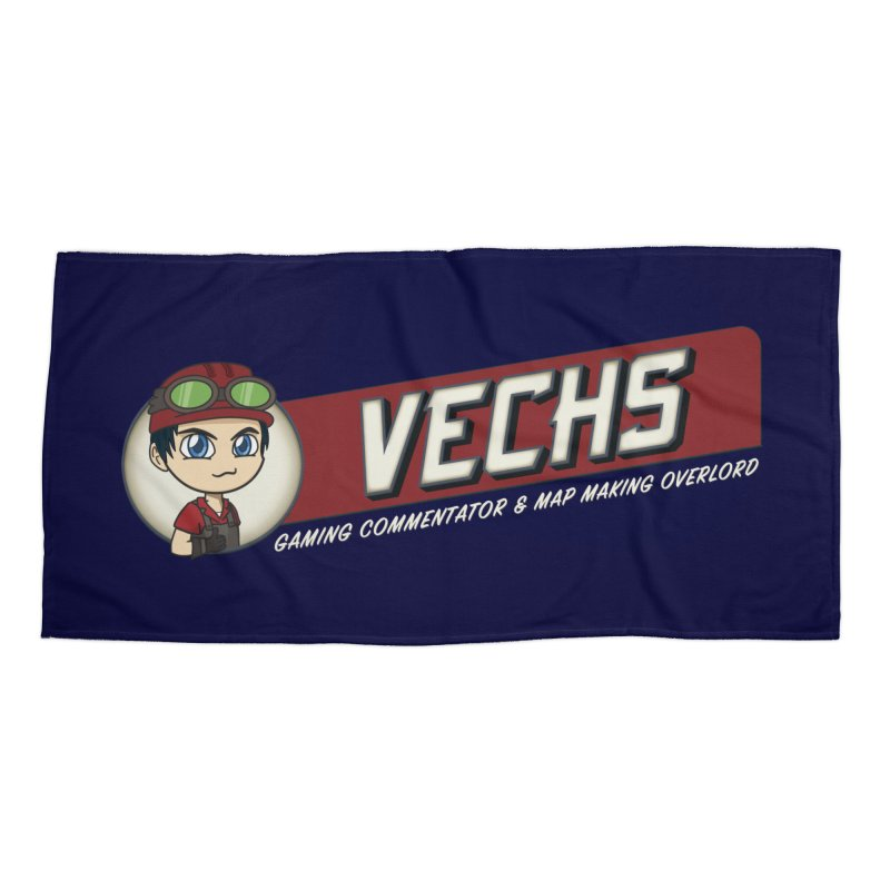 Vechs Logo - Overlord Accessories Beach Towel by All Things Vechs