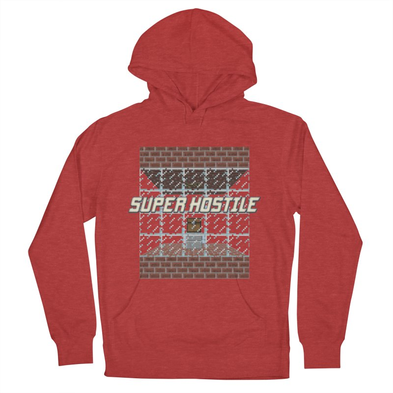 Super Hostile Fleecy Box Women's French Terry Pullover Hoody by All Things Vechs
