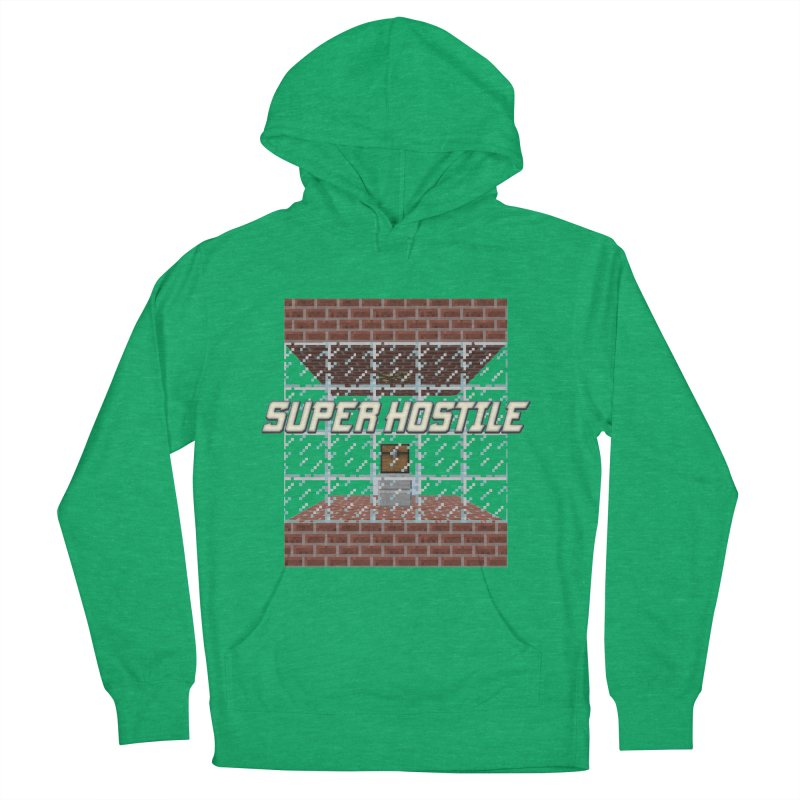 Super Hostile Fleecy Box Men's French Terry Pullover Hoody by All Things Vechs