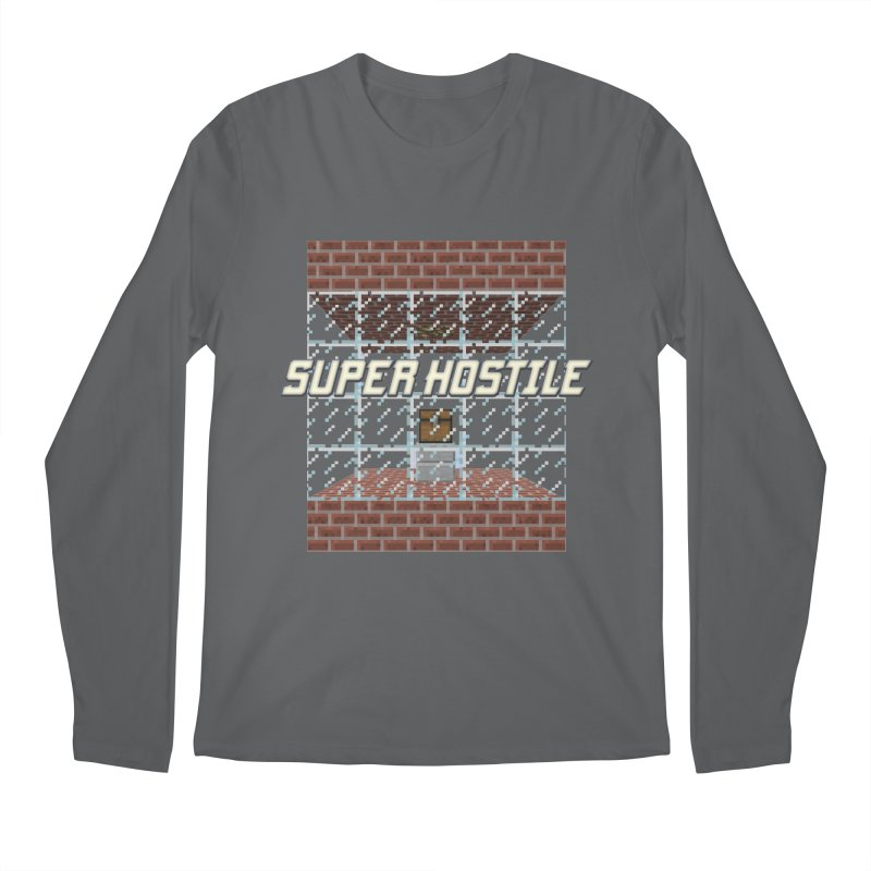 Super Hostile Fleecy Box Men's Regular Longsleeve T-Shirt by All Things Vechs