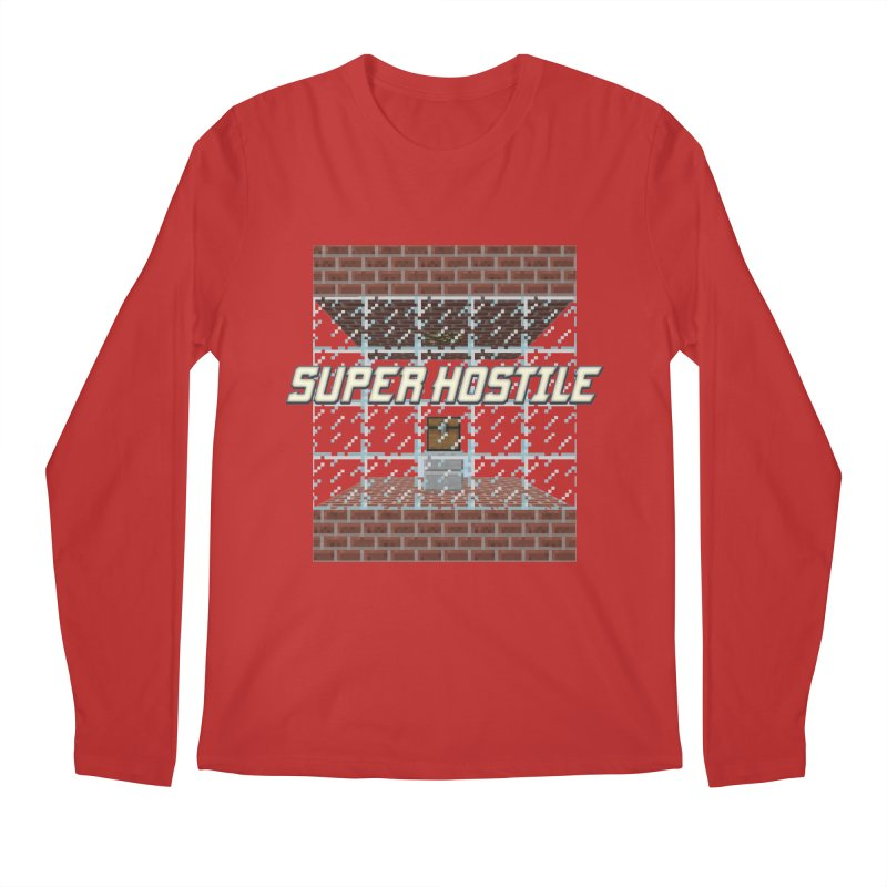 Super Hostile Fleecy Box Men's Regular Longsleeve T-Shirt by All Things Vechs