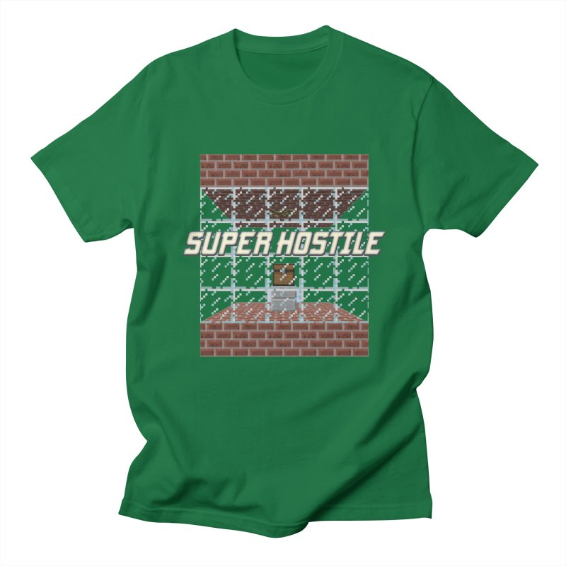 Super Hostile Fleecy Box Men's Regular T-Shirt by All Things Vechs