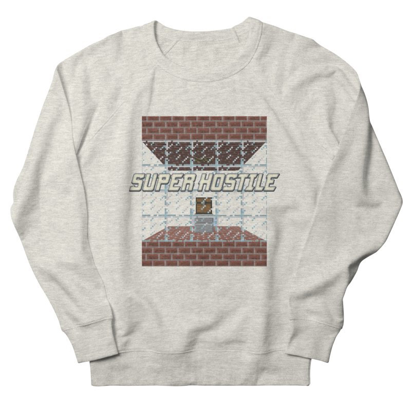 Super Hostile Fleecy Box Men's French Terry Sweatshirt by All Things Vechs