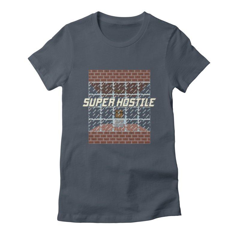 Super Hostile Fleecy Box Women's T-Shirt by All Things Vechs