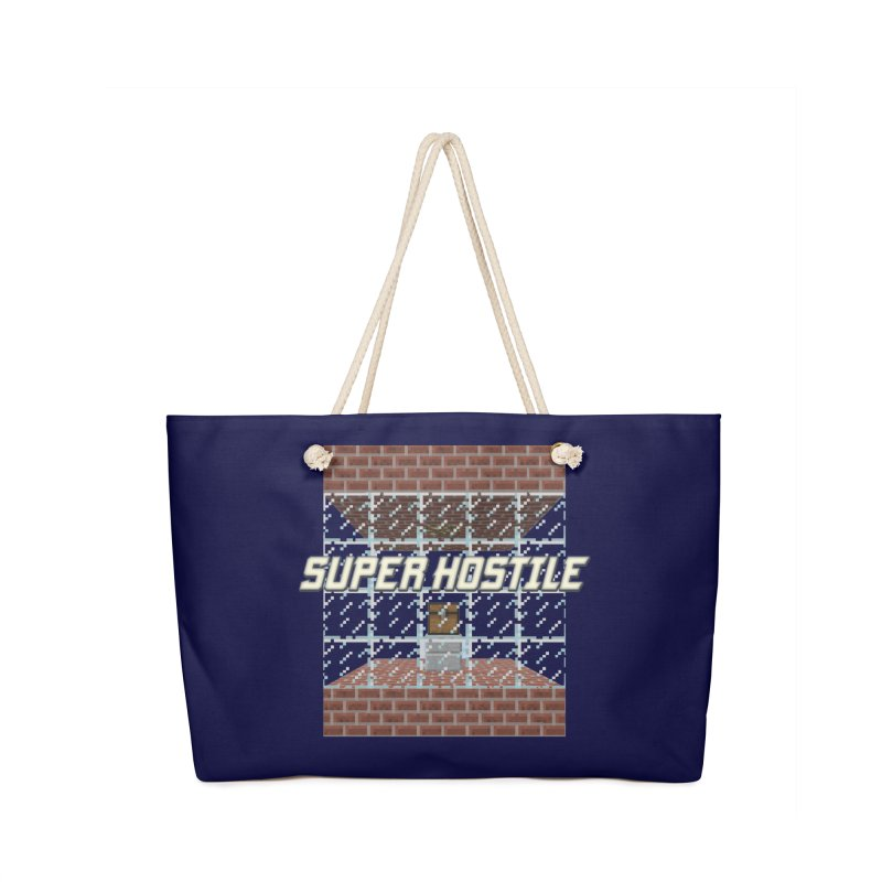 Super Hostile Fleecy Box Accessories Bag by All Things Vechs