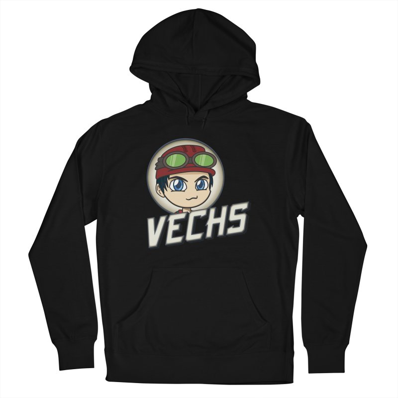 Vechs Logo Women's French Terry Pullover Hoody by All Things Vechs