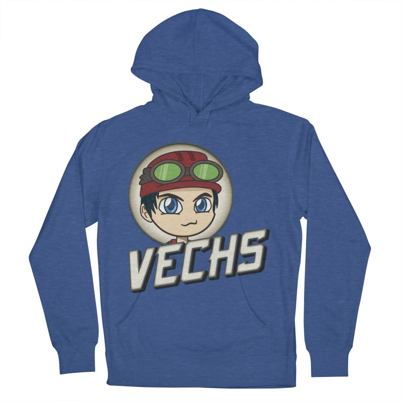 Vechs Logo Men's French Terry Pullover Hoody by All Things Vechs