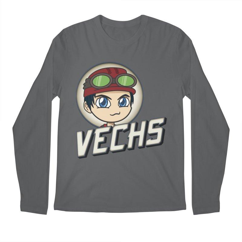 Vechs Logo Men's Regular Longsleeve T-Shirt by All Things Vechs
