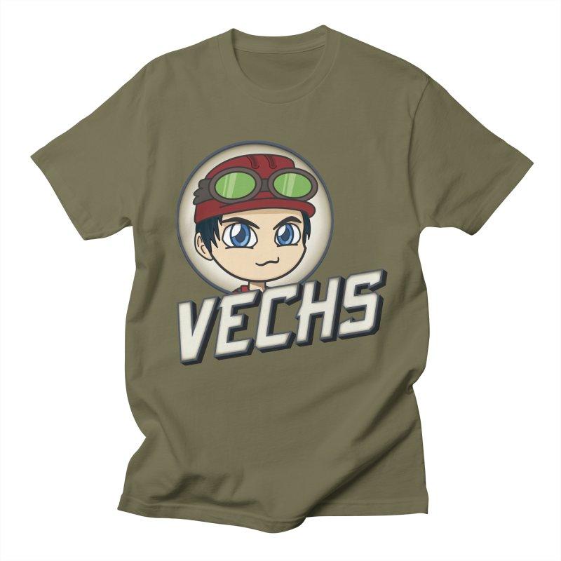 Vechs Logo Men's Regular T-Shirt by All Things Vechs