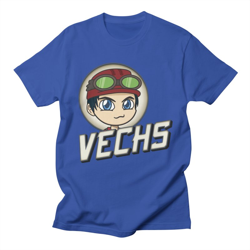 Vechs Logo Men's Regular T-Shirt by All Things Vechs