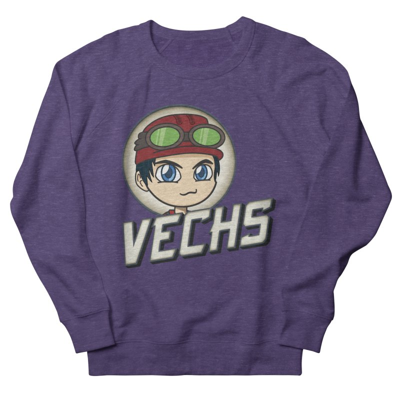 Vechs Logo Men's French Terry Sweatshirt by All Things Vechs