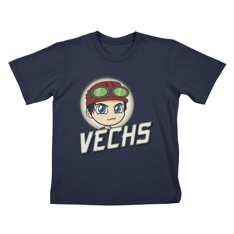 Vechs Logo Kids T-Shirt by All Things Vechs