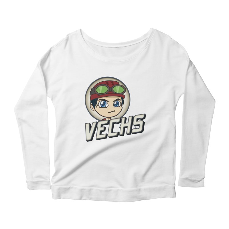 Vechs Logo Women's Scoop Neck Longsleeve T-Shirt by All Things Vechs