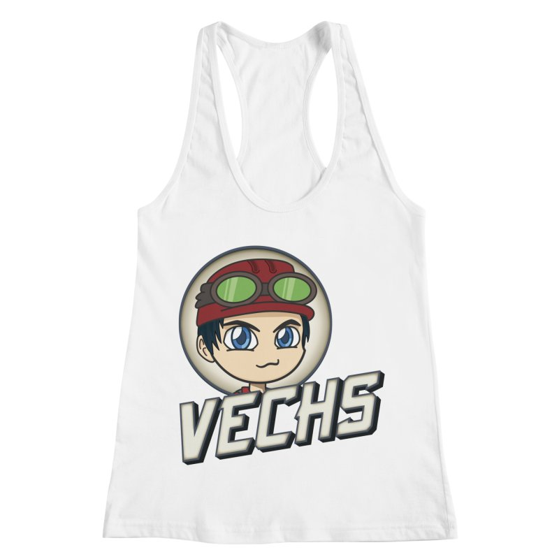Vechs Logo Women's Racerback Tank by All Things Vechs